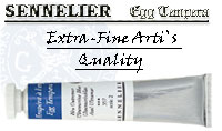 Sennelier egg- tempera  paints