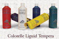 Colorelle tempera  paints