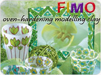 FIMO - oven-hardening modelling clay