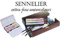 Sennelier професионален акварел комплекти